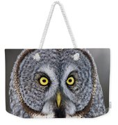 Great Gray Owl Pictures 680 Weekender Tote Bag