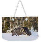 Great Gray Owl Pictures 740 Weekender Tote Bag