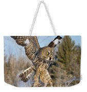 Great Gray Owl Pictures 767 Weekender Tote Bag