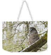 Great Gray Owl Pictures 804 Weekender Tote Bag