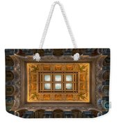 Great Hall Ceiling Library Of Congress Weekender Tote Bag