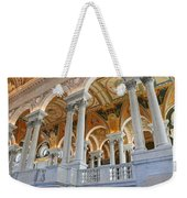 Great Hall Of The Library Of Congress  Weekender Tote Bag