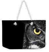 Great Horned Owl Photo Weekender Tote Bag