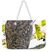 Great Horned Owl  Weekender Tote Bag