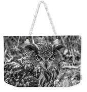 Great Horned Owl V7 Weekender Tote Bag
