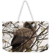 Great Horned Owlet 2 Weekender Tote Bag