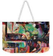 Great Is Peace Weekender Tote Bag
