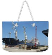Great Lakes Ship Polsteam 3 Weekender Tote Bag