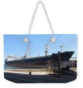 Great Lakes Ship Polsteam 4 Weekender Tote Bag