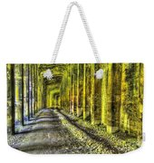 Great Norther Railroad Snow Shed - Electric Neon Weekender Tote Bag