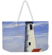 Great Point Lighthouse Nantucket Massachusetts Weekender Tote Bag