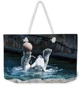 Great Polar Catch By Willie Weekender Tote Bag