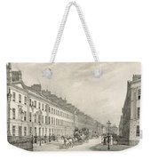 Great Pultney Street, Bath, C.1883 Weekender Tote Bag