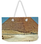 Great Pyramid Of Giza Weekender Tote Bag