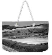 Great Sand Dunes - 1 - Bw Weekender Tote Bag