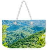 Great Smoky Mountains National Park Near Gatlinburg Tennessee. Weekender Tote Bag