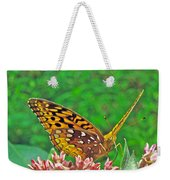 Great Spangled Fritillary Butterfly - Speyeria Cybele Weekender Tote Bag