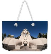 Great Sphinx Of Giza Luxor Resort Las Vegas Weekender Tote Bag
