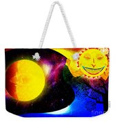 Great Sun Jester And The Night Sky Weekender Tote Bag