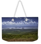 Great View On Top Of Cadilac Mountain Weekender Tote Bag