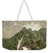 Great Wall 0033 - Colored Photo 2 Sl Weekender Tote Bag