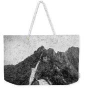 Great Wall 0033 - Graphite Drawing Sl Weekender Tote Bag
