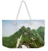 Great Wall 0033 - Oil Stain Sl Weekender Tote Bag