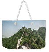 Great Wall 0033 - Pastel Chalk 2 Sl Weekender Tote Bag