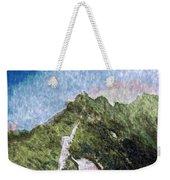 Great Wall 0033 - Watercolor 2 Sl Weekender Tote Bag
