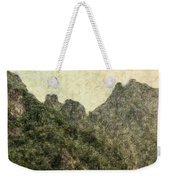 Great Wall 0043 - Colored Photo 2 Weekender Tote Bag