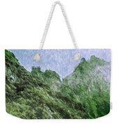 Great Wall 0043 -  Watercolor 2 Sl Weekender Tote Bag