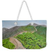 Great Wall Of China Weekender Tote Bag