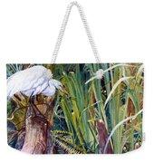 Great White Heron Sanctuary Weekender Tote Bag