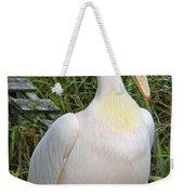 Great White Pelican Weekender Tote Bag
