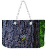 Greater Crested Flycatcher Weekender Tote Bag