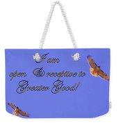 Greater Good Weekender Tote Bag