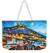 Greece Lesbos Island 2 Weekender Tote Bag by Leonid Afremov
