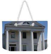 Greek Revival House - New London Ct Weekender Tote Bag