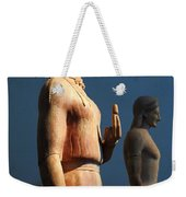 Greek Sculpture Athens 1 Weekender Tote Bag by Bob Christopher