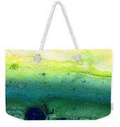 Green Abstract Art - Life Song - By Sharon Cummings Weekender Tote Bag