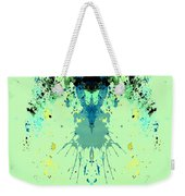 Green Alien Weekender Tote Bag