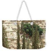 Green Among Cliffs Weekender Tote Bag