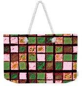 Green And Brown Sudoku Weekender Tote Bag