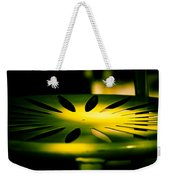 Green And Gold Weekender Tote Bag by Christi Kraft