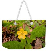 Green And Gold Weekender Tote Bag