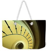 Green And Yellow Spirals Weekender Tote Bag