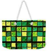 Green And Yellow Sudoku Weekender Tote Bag