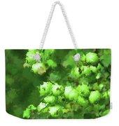 Green Apple On A Branch Weekender Tote Bag