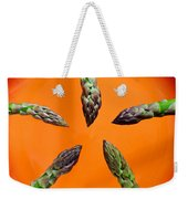 Green Asparagus - Fresh Food Photography Weekender Tote Bag