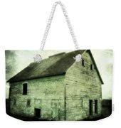 Green Barn Weekender Tote Bag by Julie Hamilton